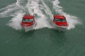 White pointer boat